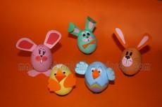 Decorare le uova per Pasqua: tanti animaletti