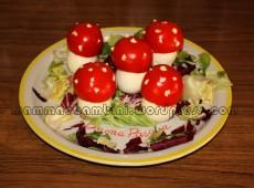 "Pasqua: idee a tavola ""funghetti"""