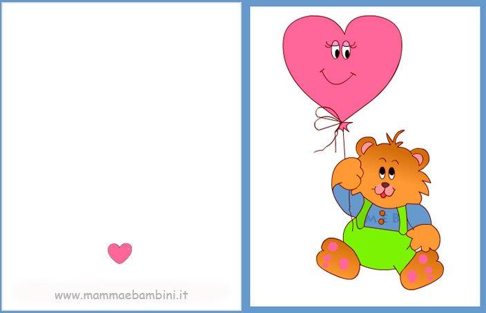 Preferenza Biglietti compleanno per bambini da stampare - Mamma e Bambini BU64