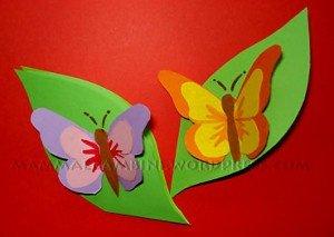Biglietti auguri con farfalle