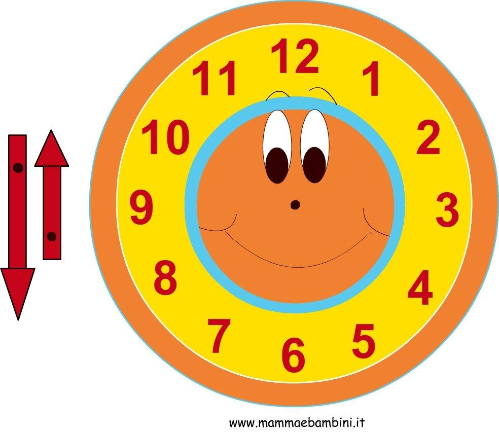 come fare un orologio di cartone