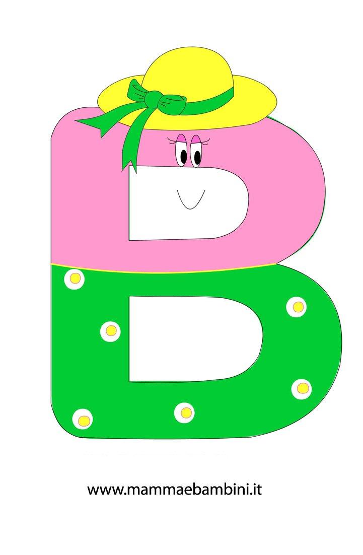 Alfabetiere Per Bambini Da Stampare La B Mamma E Bambini