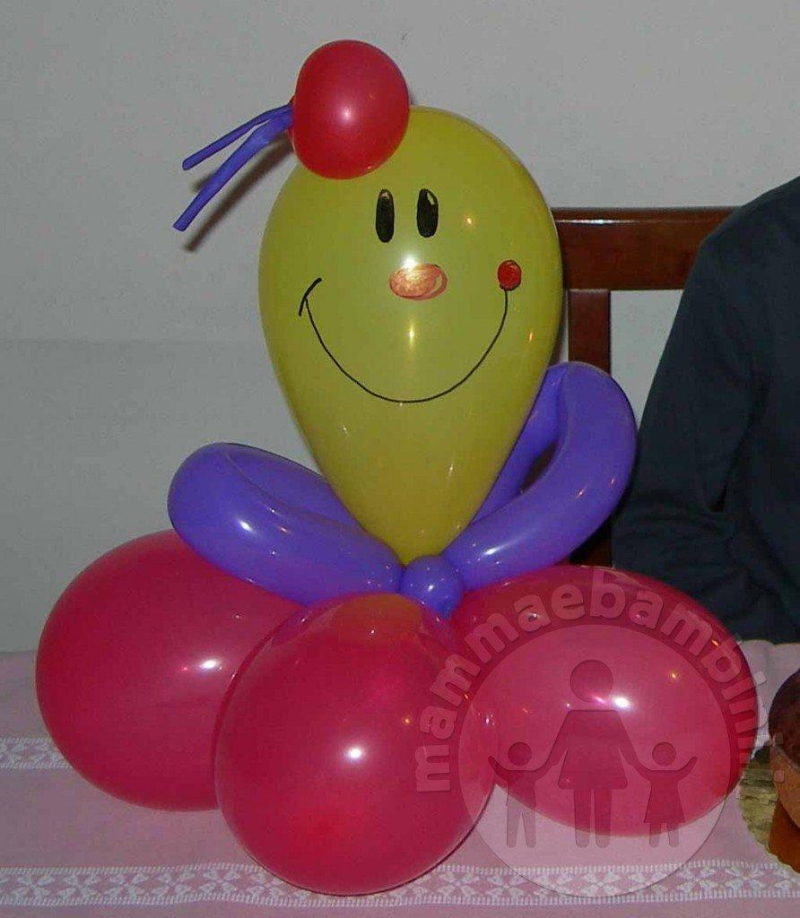 Decorazioni per feste con palloncini pupazzi mamma e for Decorazioni per feste