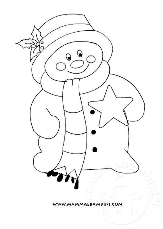 Natale disegni da colorare mamma e bambini for Disegni di natale facili per bambini
