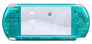 Idee regalo: PSP Slim & Lite Playstation Portable Turquoise Green
