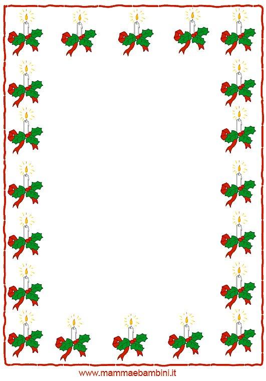 Preferenza Cornicette di Natale - Mamma e Bambini BJ86