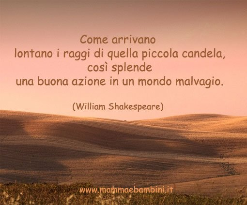 belle frasi william shakespeare