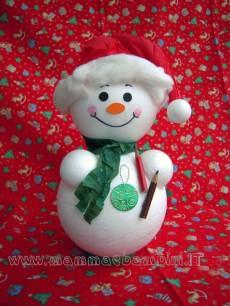 Lavoretti per Natale: pupazzo di neve