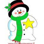 """Poesia Natale con cornice """"Il vecchio Natale"""""""