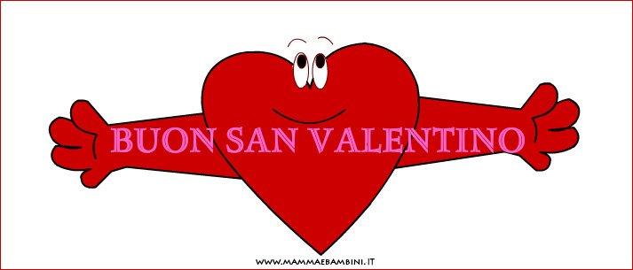 Eccezionale Biglietto auguri S. Valentino: cuore con scritta - Mamma e Bambini OR55