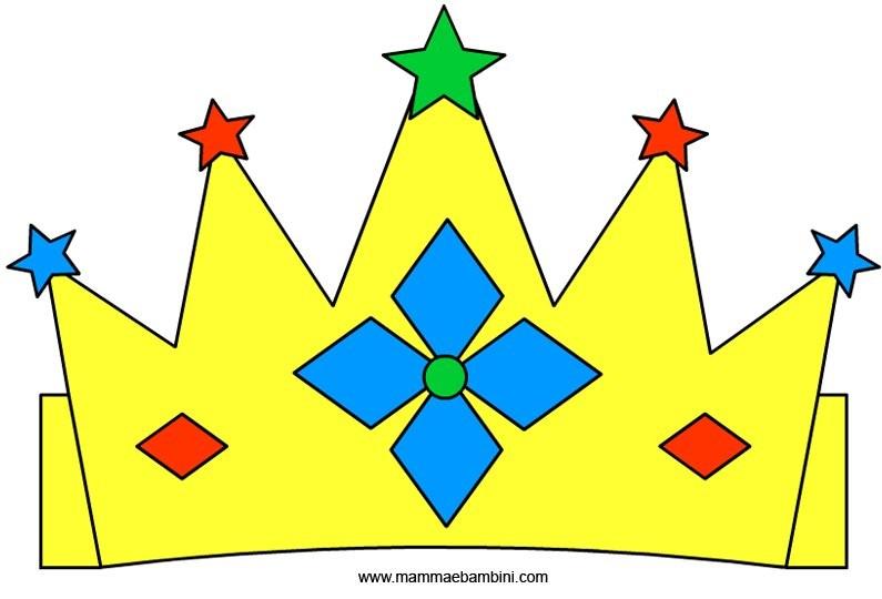 Corone: modello re e regina