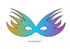 Carnevale: maschera allegra fantasia