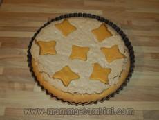 Foto e ricetta della crostata con le noci