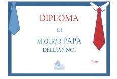 Festa del papà: un bel diploma per lui