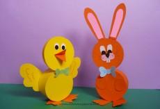 Lavoretti per Pasqua: coniglio