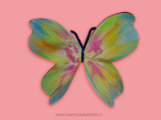 Connu Lavoretti per la festa della mamma: farfalle - Mamma e Bambini RK72