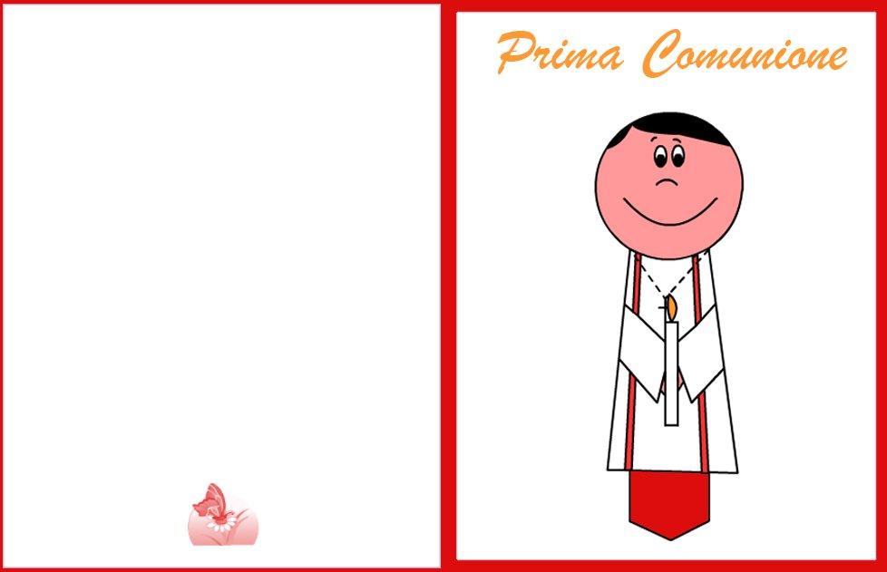 Biglietto Auguri Prima Comunione Da Stampare Mamma E Bambini