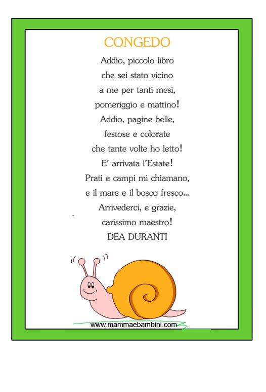 """spesso Poesia con cornice """"Congedo"""" - Mamma e Bambini KJ57"""