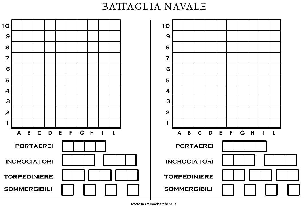 battaglia navale gioco gratis da