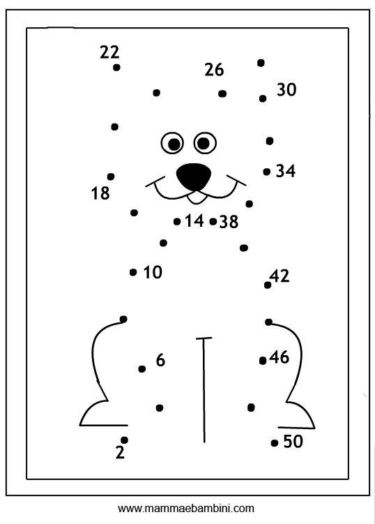 Ben noto Giochi per bambini: unisci i puntini - Mamma e Bambini GL99