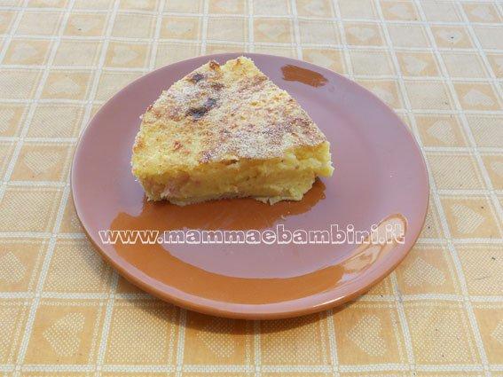 Ricetta Tortino di Patate con prosciutto cotto e sottilette
