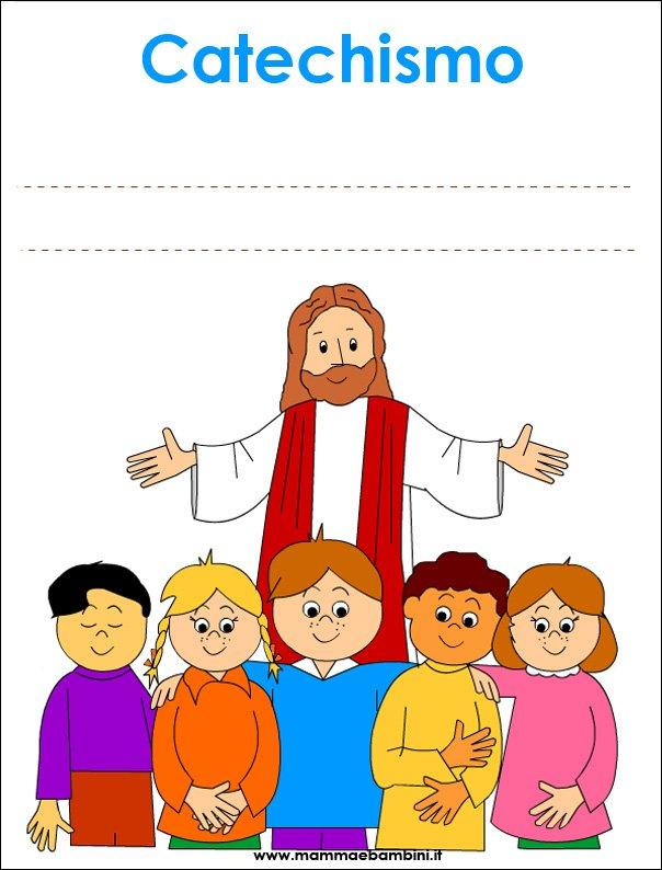 Copertina quaderno per Catechismo da stampare