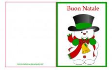 Biglietto auguri Natale da stampare n.10