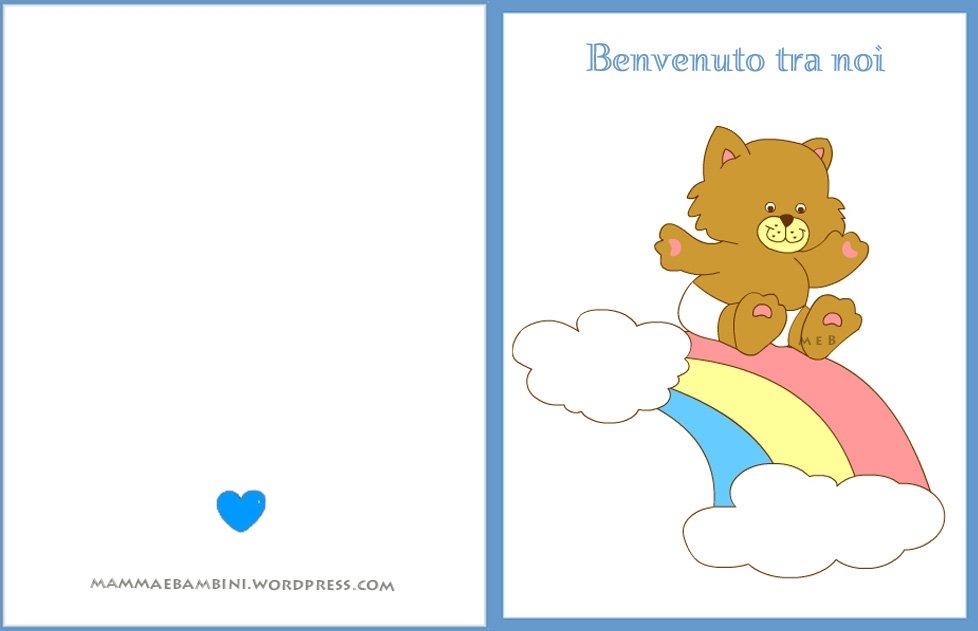 Favoloso Biglietti da stampare - Pagina 27 di 34 - Mamma e Bambini AV13