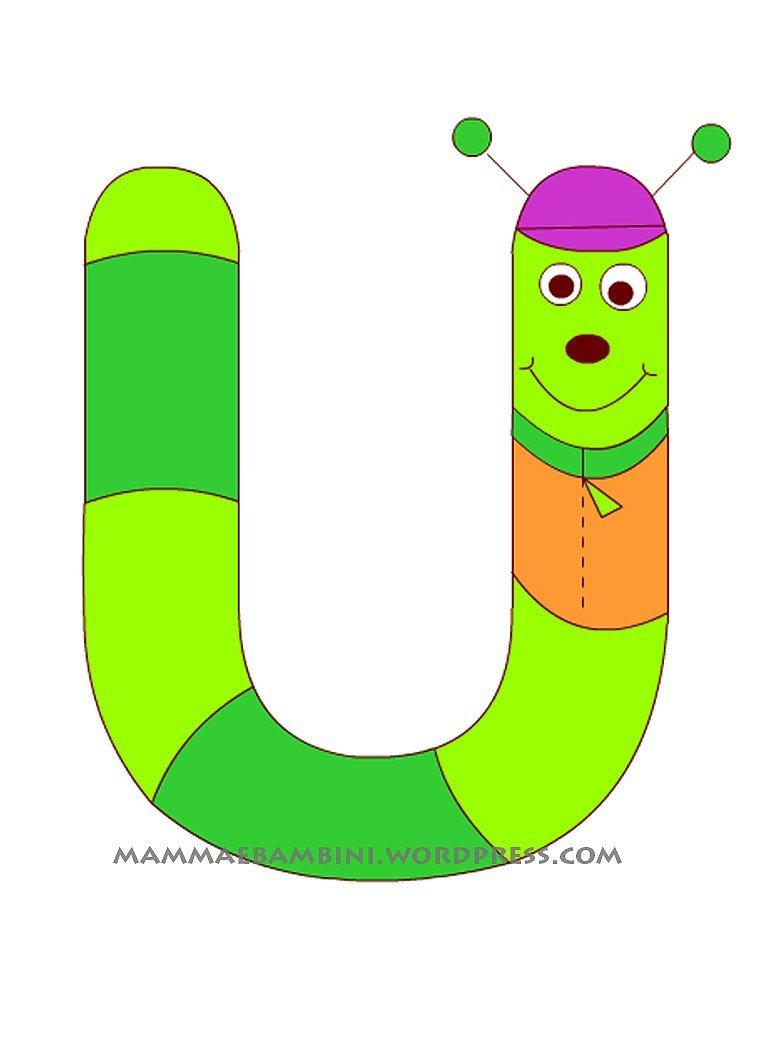 Extrêmement lettere da colorare - Pagina 3 di 5 - Mamma e Bambini XO69