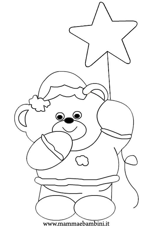 Natale disegni da colorare n.3