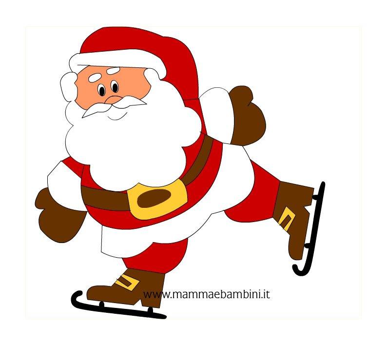 Babbo Natale Colorato Da Stampare Disegni Di Natale
