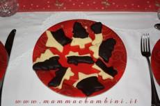 Biscotti natalizi di pastafrolla