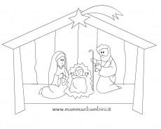 Disegni sul Natale da colorare n.6