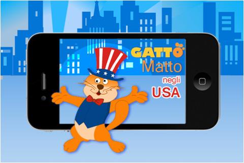 """""""Gatto Matto negli USA"""" prossimamente su App Store"""