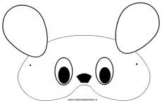 Carnevale maschere da colorare: topolino