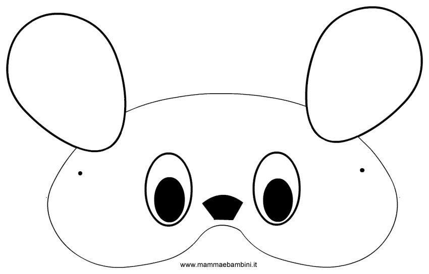 maschera topolino