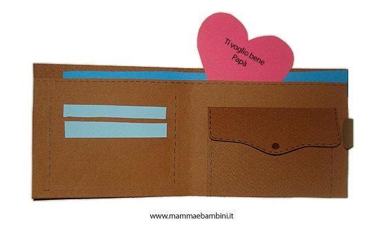 Souvent Lavoretto per la Festa del Papà: portafoglio - Mamma e Bambini XW36
