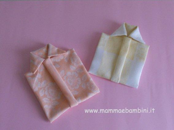 Come Piegare Un Tovagliolo A Camicia Mamma E Bambini