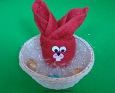 Coniglio con asciugamano n.1