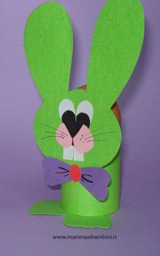 Coniglio: un lavoretto per Pasqua facile e veloce