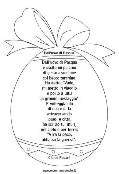 poesia dentro uovo