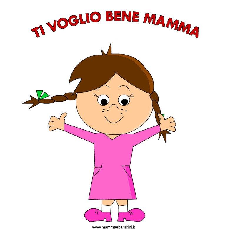 Disegni per la Festa della mamma da stampare