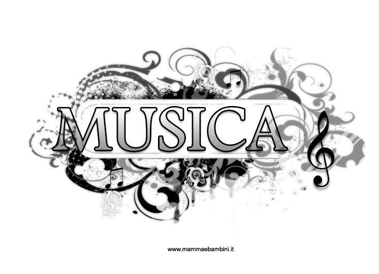 Disegni da colorare di musica