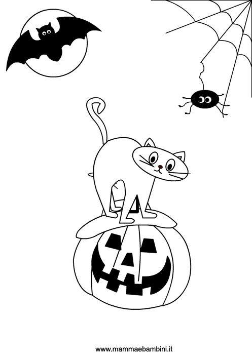 Halloween disegno da colorare