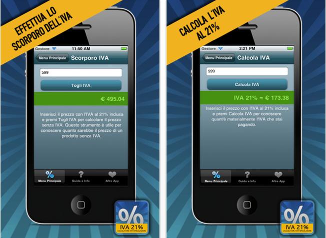 Calcolo dell'iva un'app utile e gratuita