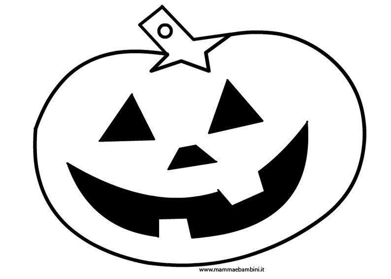 Top Zucca Halloween da colorare per bambini - Mamma e Bambini NW13