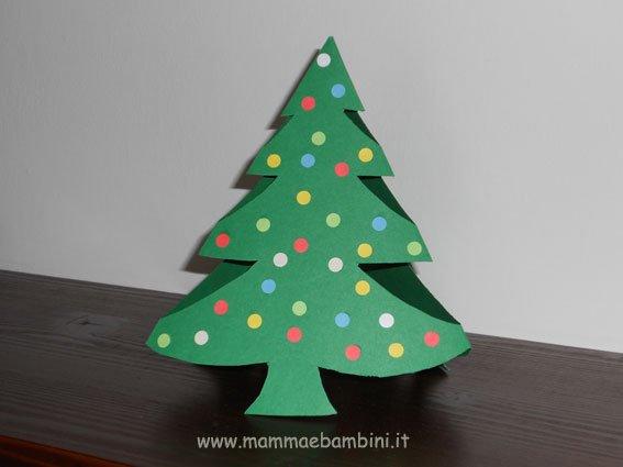 Connu Albero di Natale con carta: un'idea bellissima per i lavoretti di  UD41