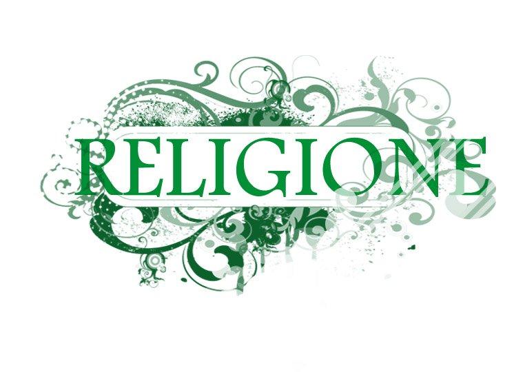 Copertina Religione per quaderni scuola