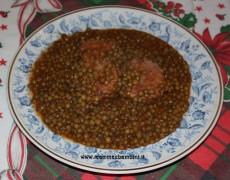 Ricetta Cotechino e lenticchie