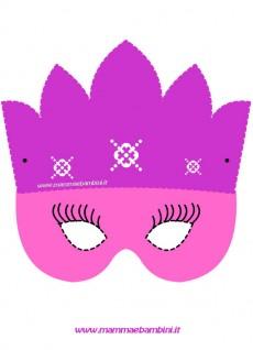 Maschera principessa per Carnevale